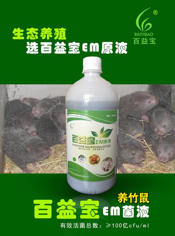 EM菌液养竹鼠(养竹鼠专用)