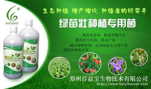 种植em菌绿苗壮在种植业上的用法